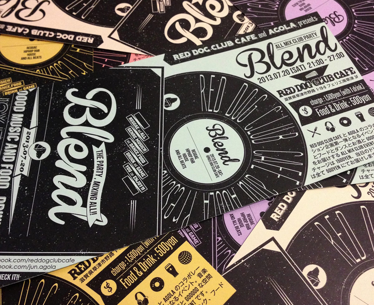 FLYER of BLEND vol.01
