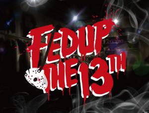 Fedup sampler 13thのジャケットワーク